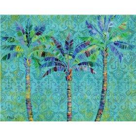 Paradise Palms Turquoise