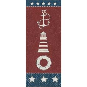Coastal Americana Panel I