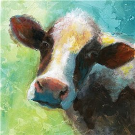 Colorful Quirky Cow
