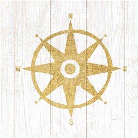 Beachscape IV Compass Gold Neutral