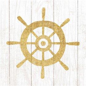 Beachscape VI Helm Gold Neutral