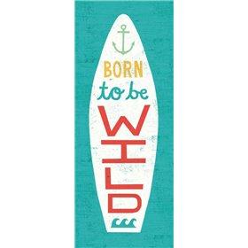 Beach Bums Surf Board I