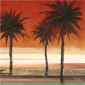 Red Coastal Palms II