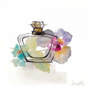 Crystal Watercolor Perfume  Square I