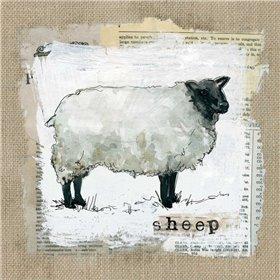 Burlap Sheep