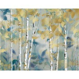 Gilded Forest I