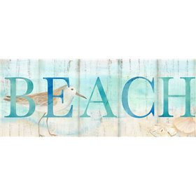 Beach Sandpiper Sign