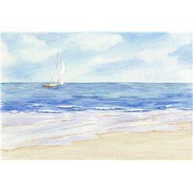 Sailboat and Seagulls I