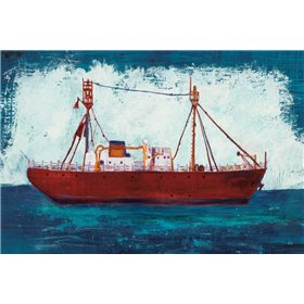 Nantucket Lightship Navy no Words