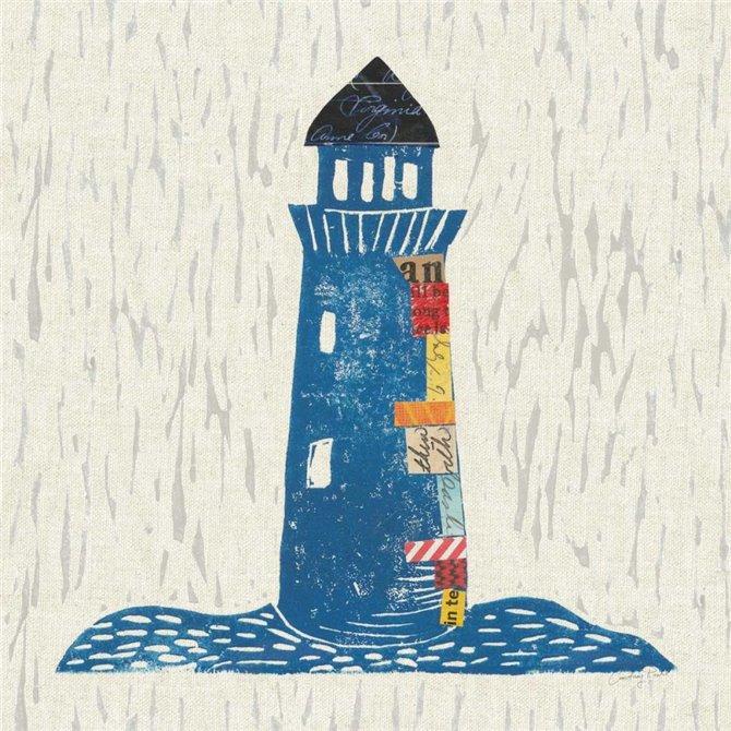 Nautical Collage II on Linen