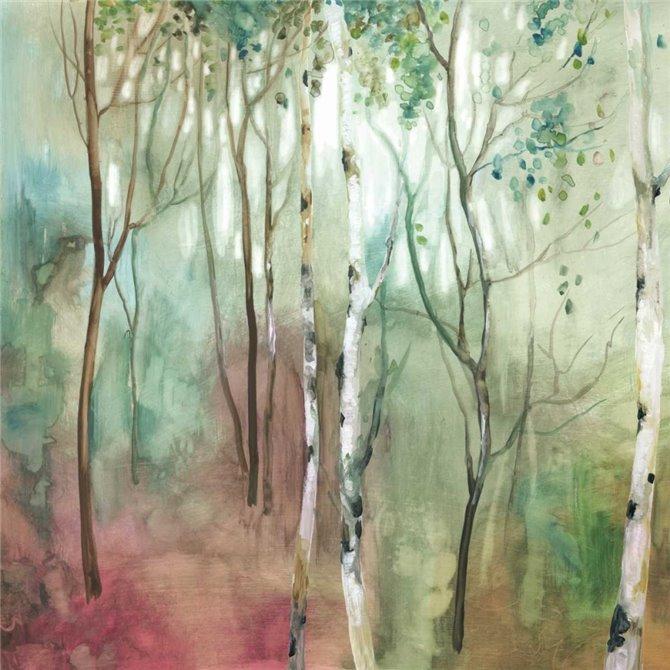 Birch in the fog I