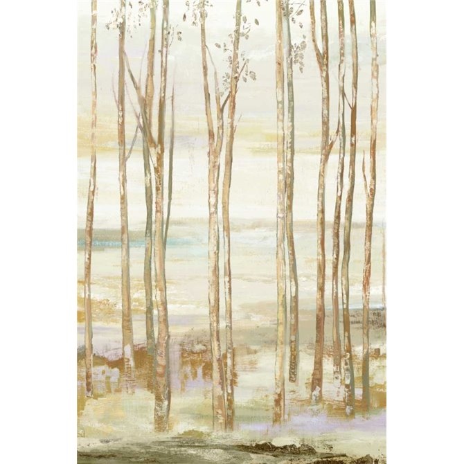 White on white trees