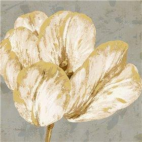 Floral Fresco Grey I