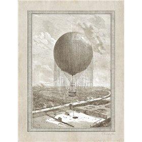 Balloon Over The Seine
