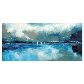 Blue Sky and Boats I