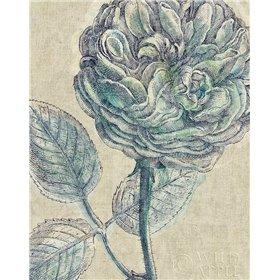 Belle Fleur III Crop Linen