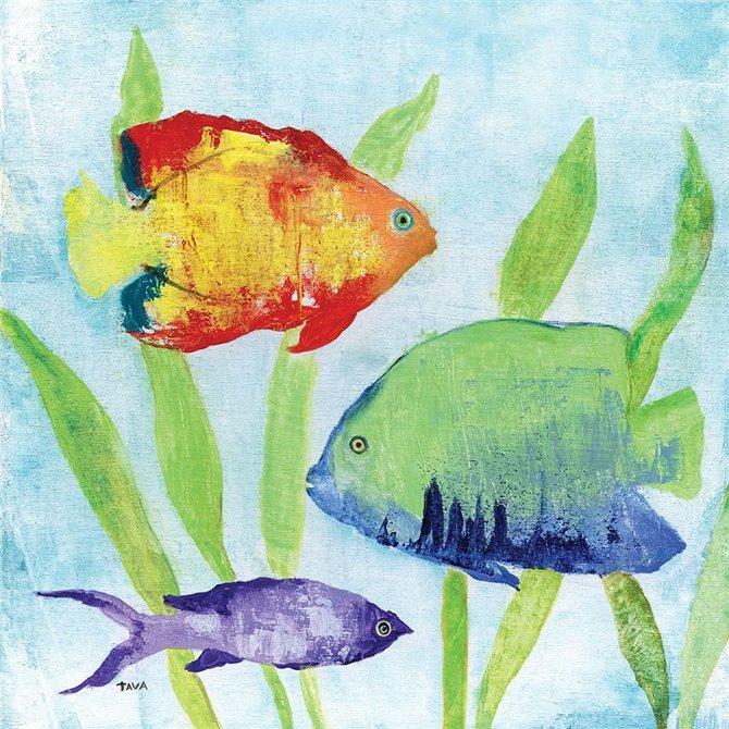 Iridescent Fish II