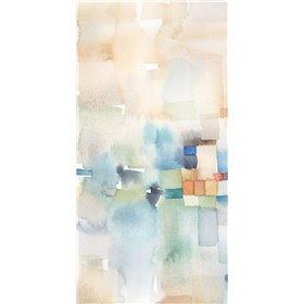 Teal Abstract Panel I