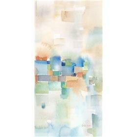 Teal Abstract Panel III