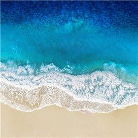 Aqua Ocean Waves I