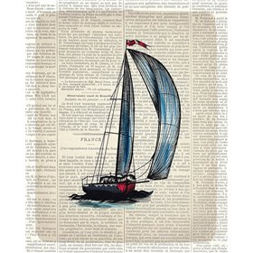Newspaper Sailboat 1