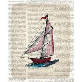 Newspaper Sailboat 2