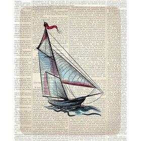 Newspaper Sailboat 3