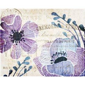 Soft Floral Purple 3