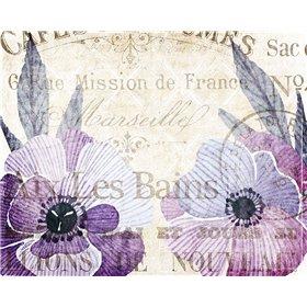 Soft Floral Purple 4