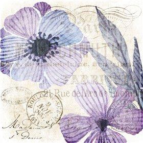 Soft Floral Purple 2