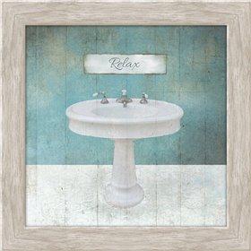 Wood Framed Aqua Bath Sink