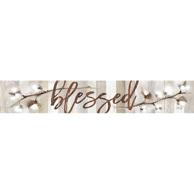 Cotton Stems - Blessed