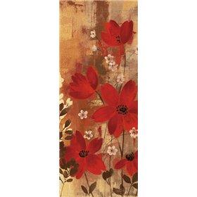 Floral Symphony Red I