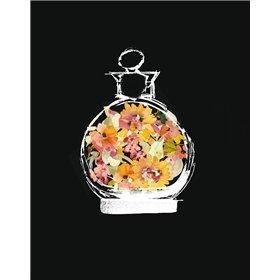 Crystal Watercolor Perfume on Black I