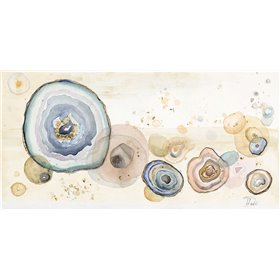 Agates Flying Watercolor