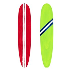 Red and Green Surf Boards