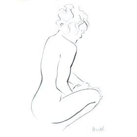 Contemplating Female I