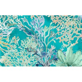 Under the Sea Plants Blue
