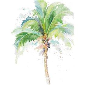 Watercolor Coconut Palm