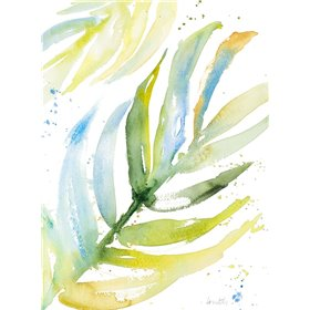Blue Green Palm Fronds I