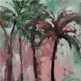 Island Evening Palms I