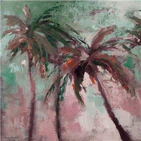 Island Evening Palms II