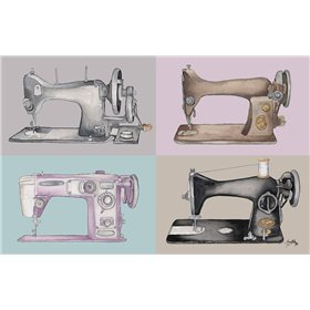 Sewing Machine Collage
