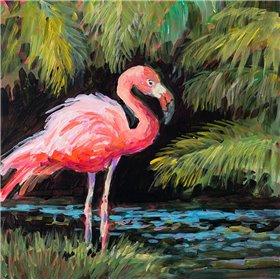 Relaxing Flamingo I