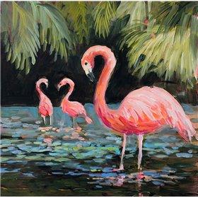 Relaxing Flamingo II