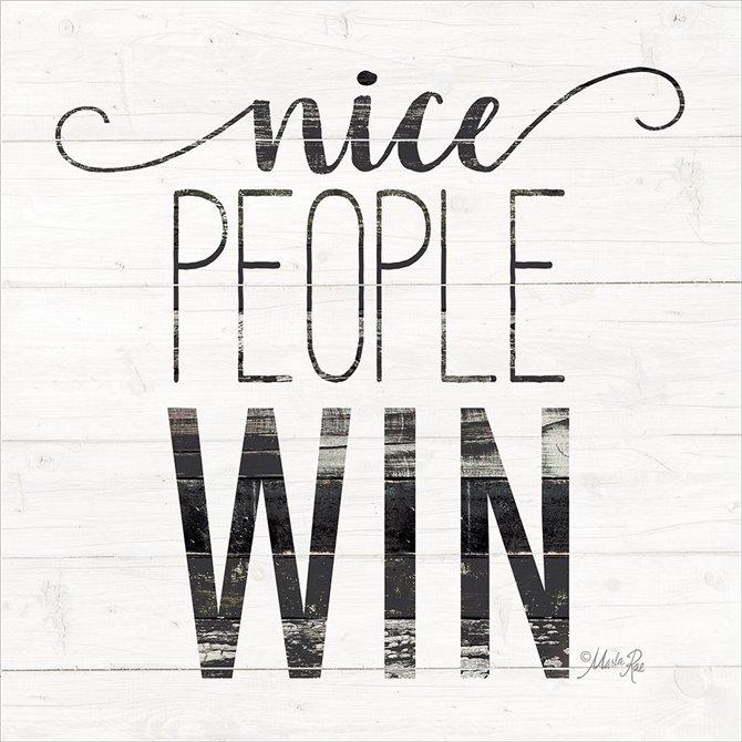 Nice People Win