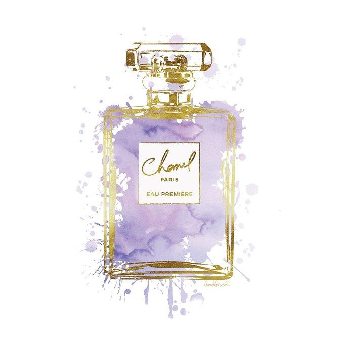 Perfume Bottle Purple