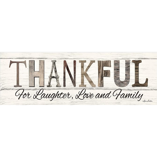 Thankful for Laughter, Love and Family