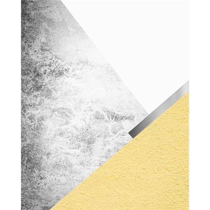 Yellow and Grey Mountains