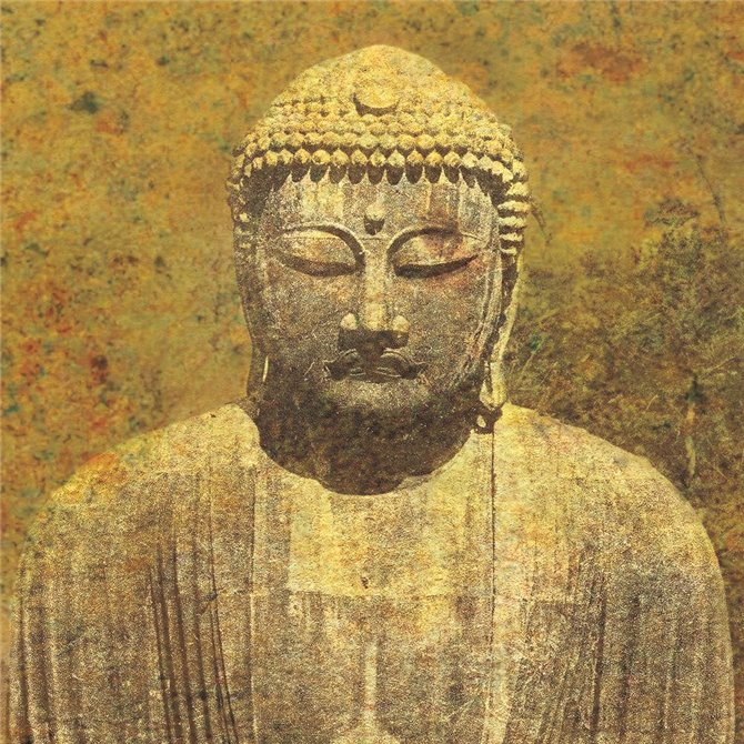 Asian Buddha Crop